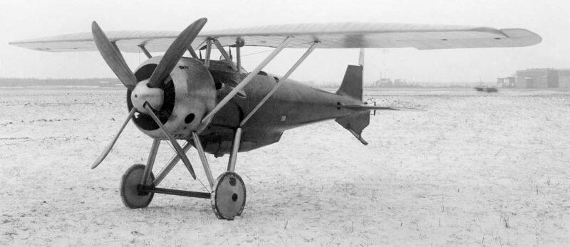 Германский истребитель Siemens-Schuckert D.VI