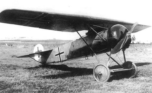 Германский истребитель Fokker E.V