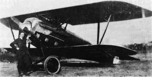 Германский истребитель Mark D.I