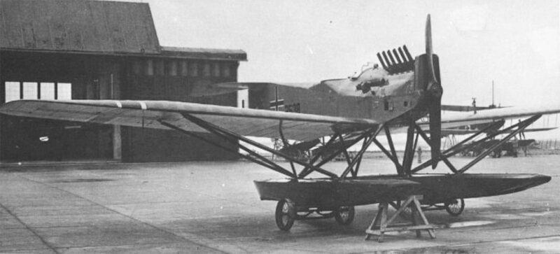 Германский истребитель Brandenburg W.33
