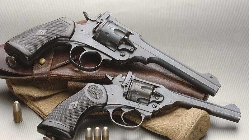 Револьверы «Webley» (Великобритания)