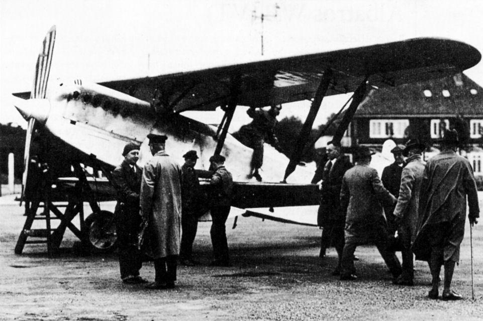 Германский истребитель Albatros L.77v