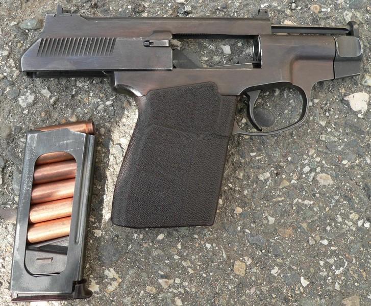 Конструкция пистолета ПСС