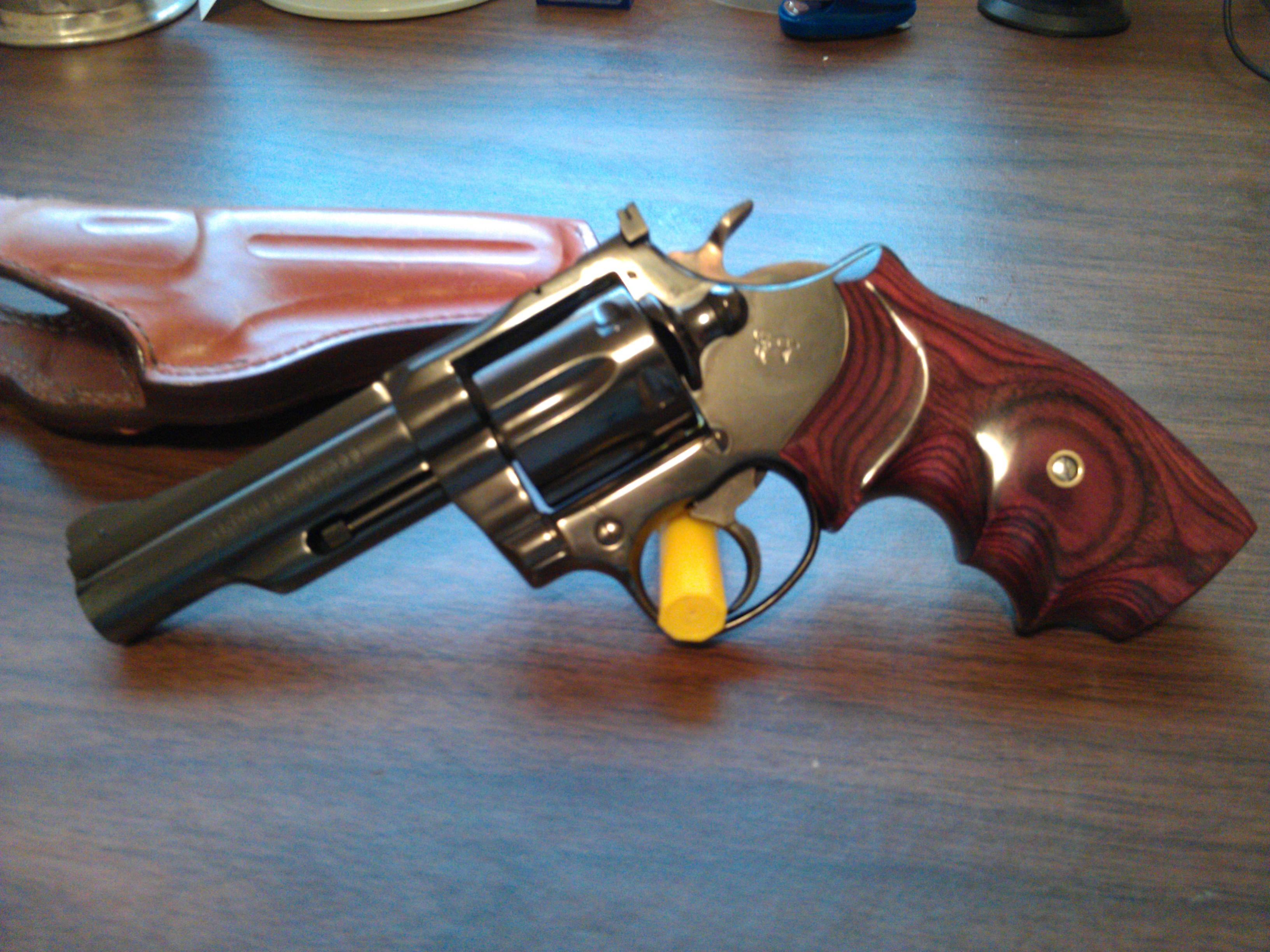 Конструкция револьвера «Colt Trooper» Мк. III