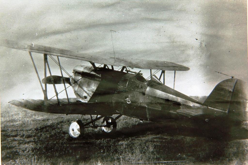 Германский истребитель Heinkel HD 37