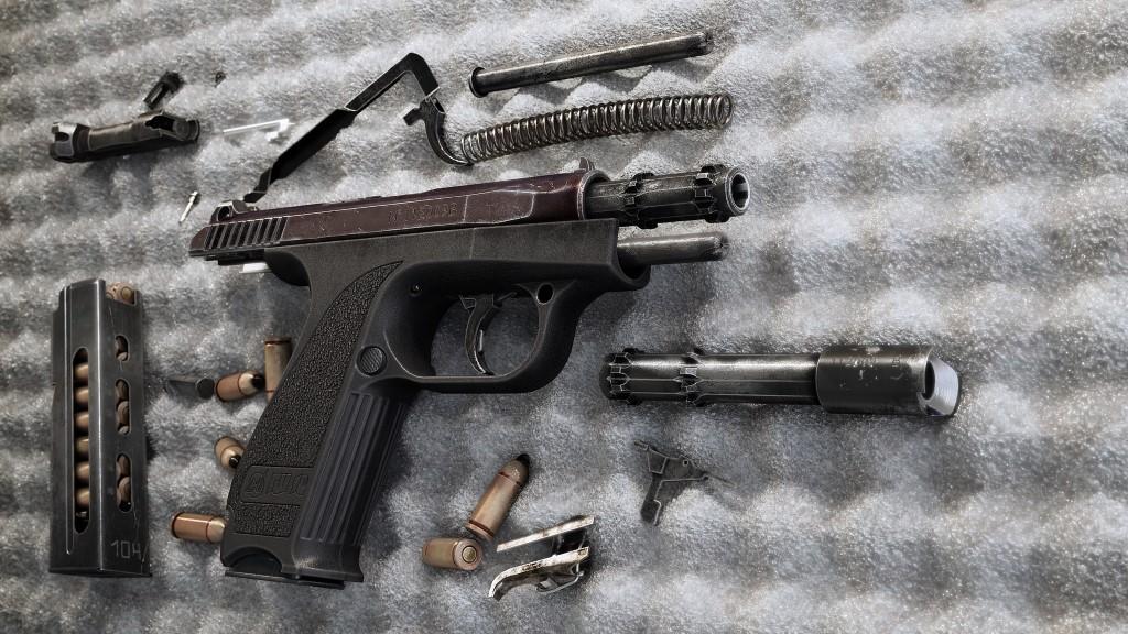 Конструкция пистолета ГШ-18