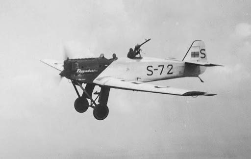 Германский истребитель Junkers К 53
