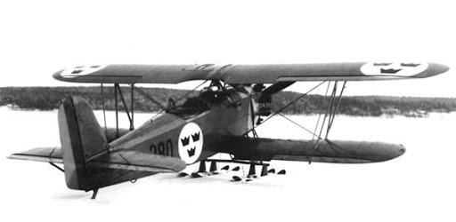 Германский истребитель Heinkel HD 19