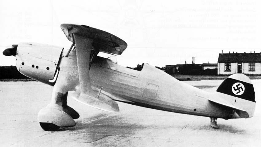 Германский истребитель Heinkel Не 74