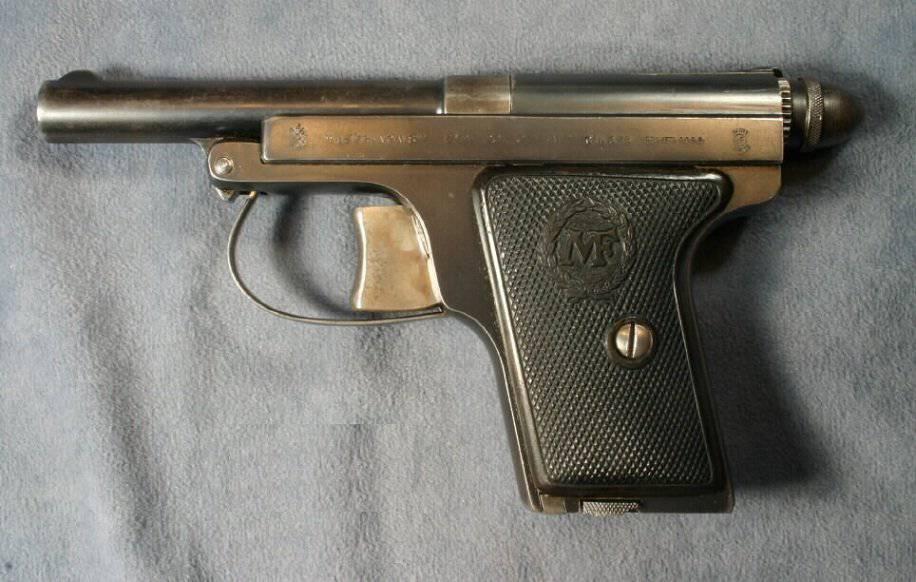 Пистолеты «Le Français», MAB, MAS M 1935 и «Unique» (Франция)