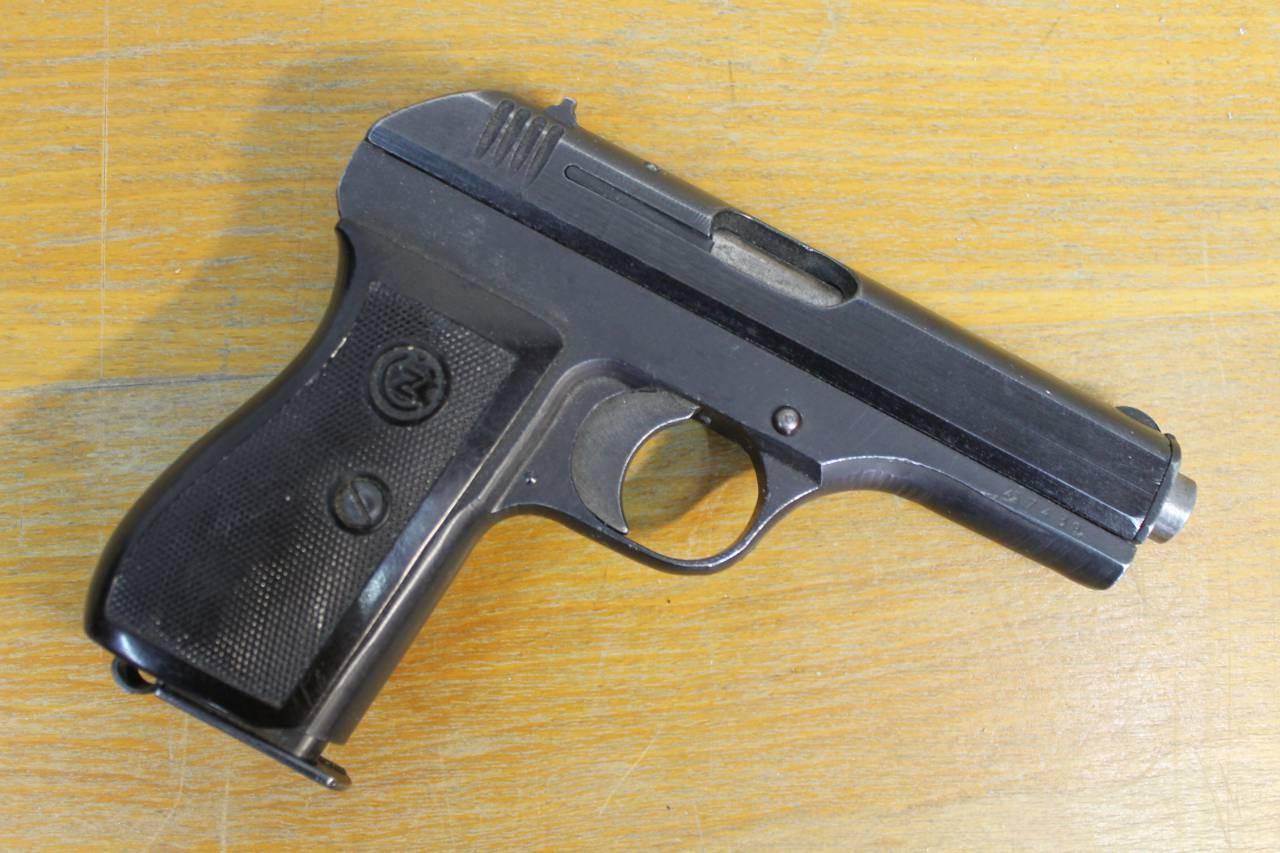 Конструкция пистолета CZ 27