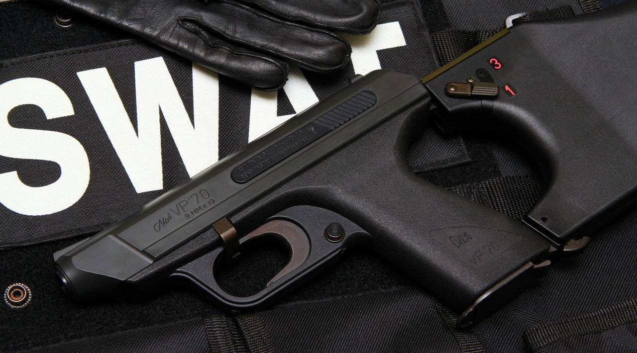 Конструкция пистолета «Heckler & Koch» VP 70