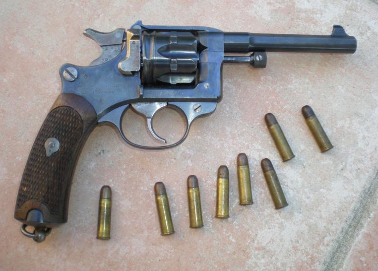 Револьвер «Lebel» М 1892 (Франция)