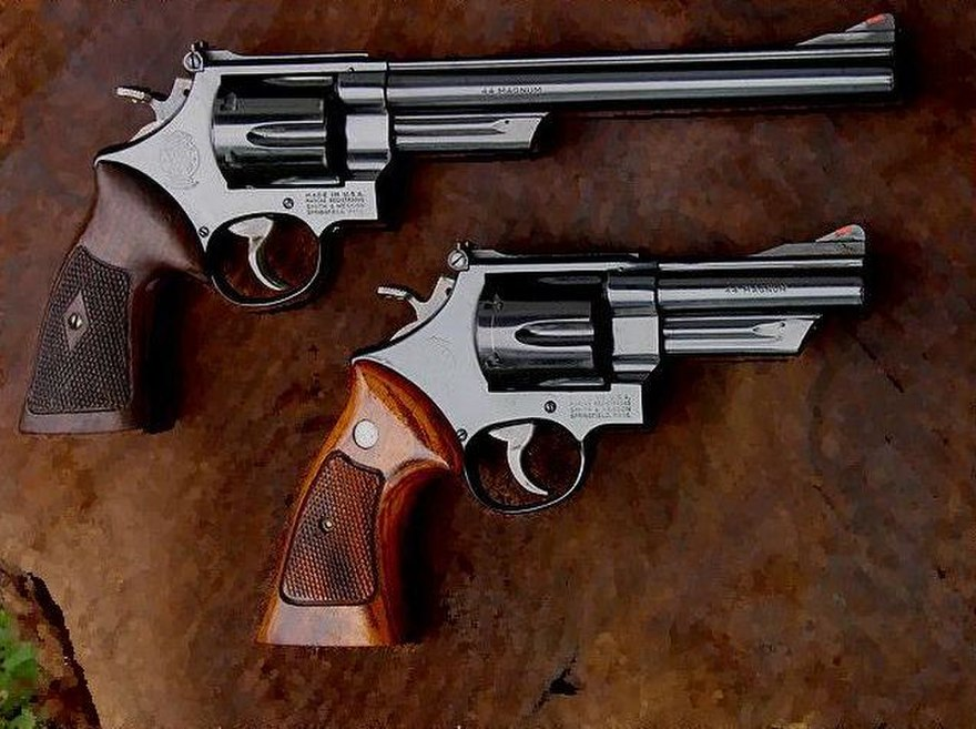 Конструкция револьвера «Smith & wesson» 29