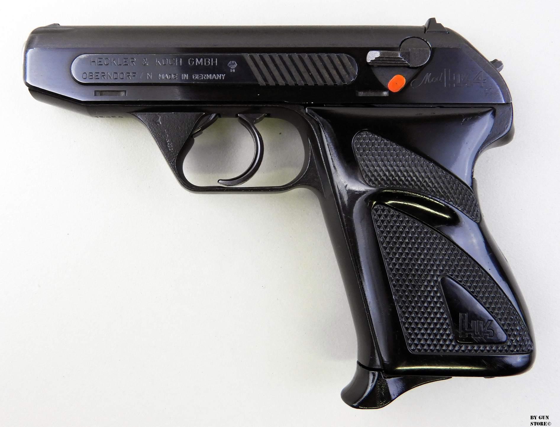 Конструкция пистолета «Heckler & Koch» HK4