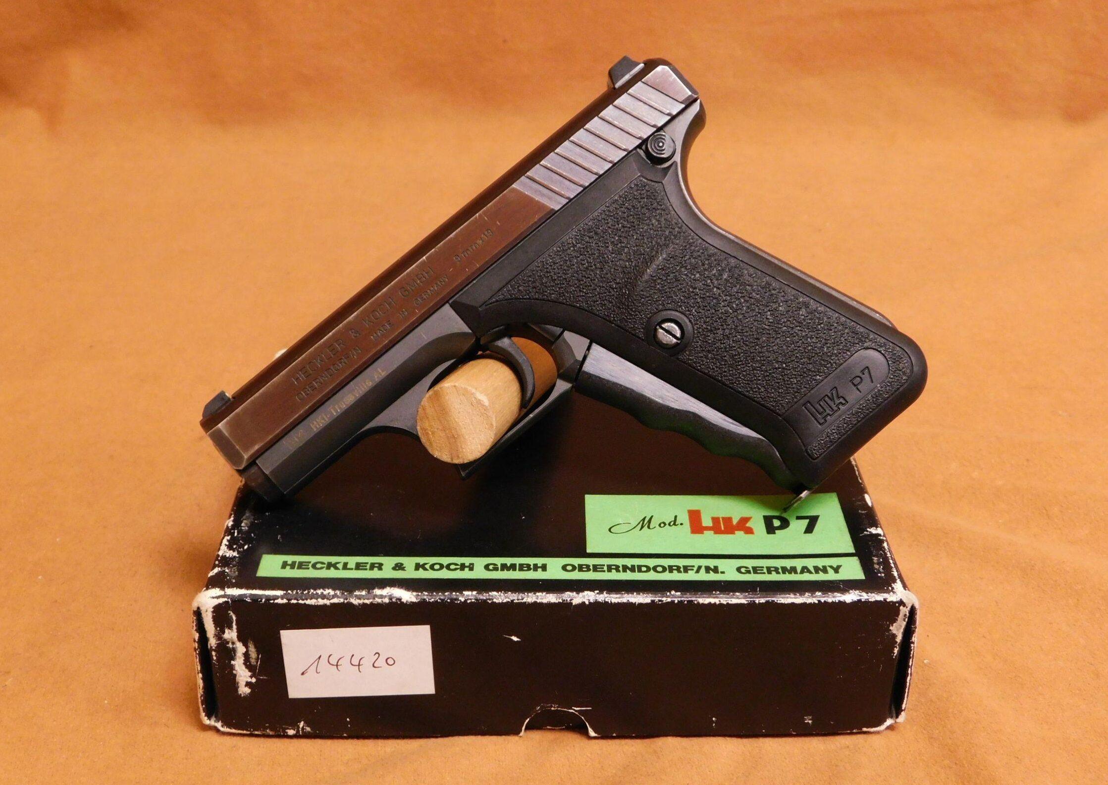 Конструкция пистолета «Heckler & Koch» P7