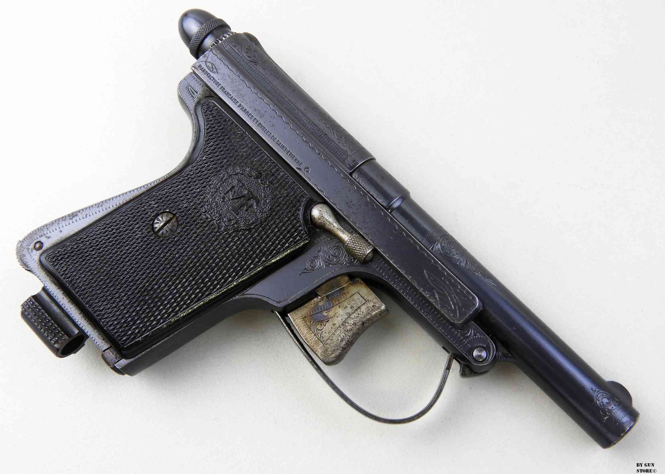 Конструкция пистолета «Le Français»