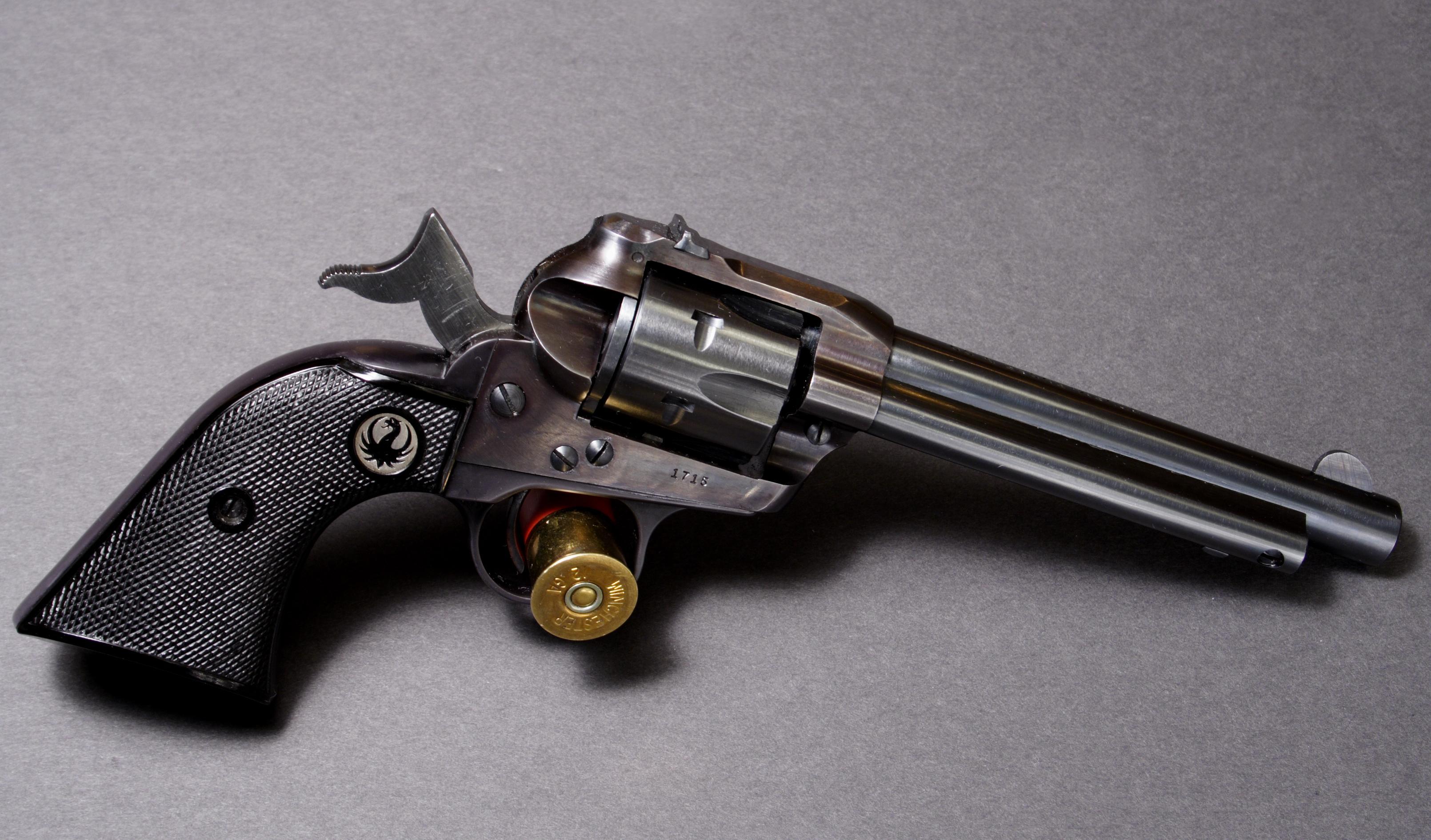 Конструкция револьвера «Ruger Single Six»