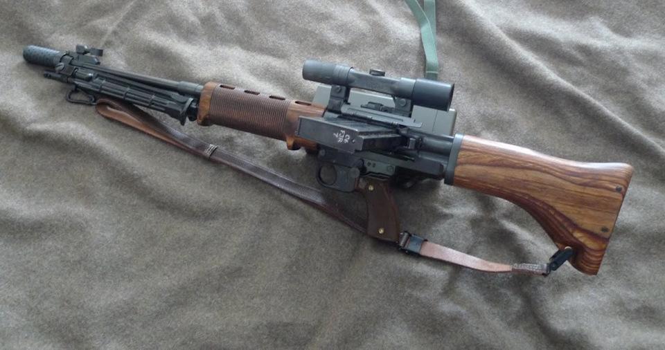 Автоматическая винтовка FG 42 (Германия)