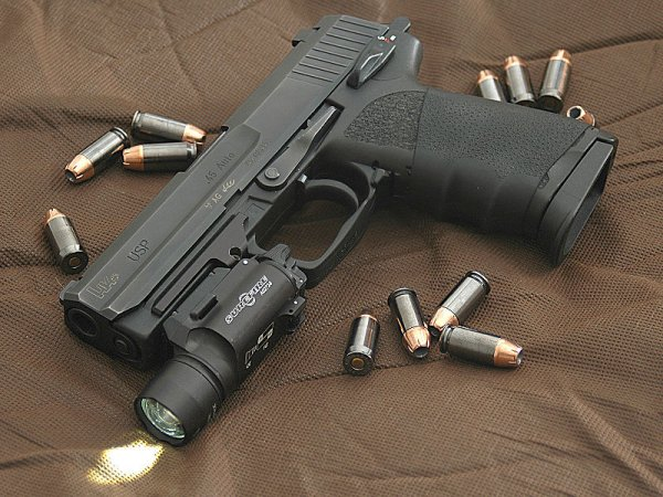 Конструкция пистолетов «Heckler & Koch» USP
