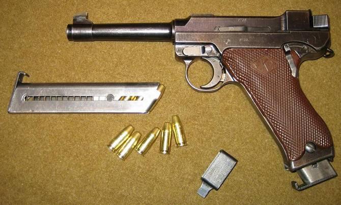 Пистолет «Lahti» VKT-L 35 (Финляндия)