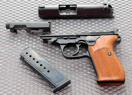 Конструкция пистолета «Walther» P 5