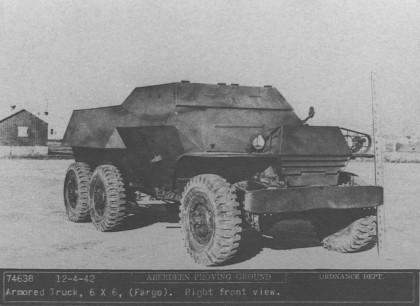 Бронеавтомобили до Второй мировой войны