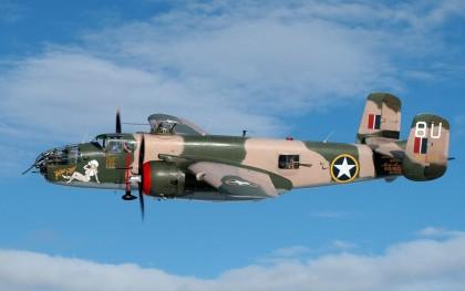 Средний бомбардировщик B-25 МИТЧЕЛЛ