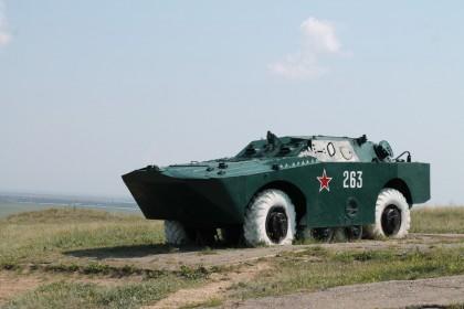 Боевая машина 2П32 с ПТРК 2К8 ФАЛАНГА