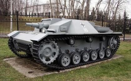 Германское штурмовое орудие Штуг III