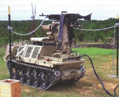 Робот Protector с модулем дистанционного