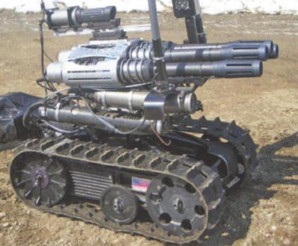 Talon с установкой, выполненной по технологии Metal Storm