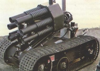 Talon, вооружённый 40-мм шестиствольным гранатомётом