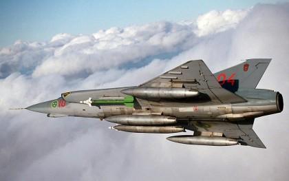 Истребитель Сааб 35 Дракен