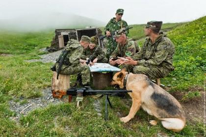 Современная пограничная служба России