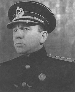Командующий Балтийским флотом Владимир Трибуц
