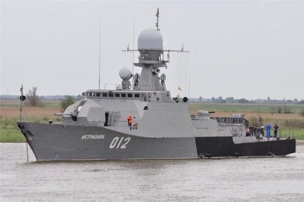 Корабли проекта 21630 «Буян»