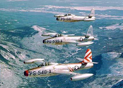 Самолет Рипаблик F-84