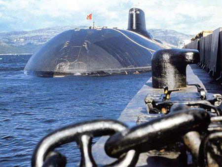 Подводные крейсера проекта 941 «Акула»