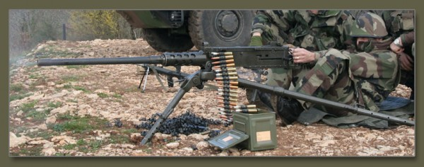 Пулеметы М2 и М2НВ