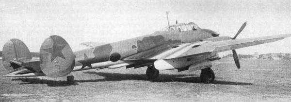 Истребитель Пе-3