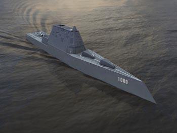 В США начались морские испытания эсминца «Замволт»