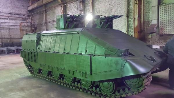 На Украине изобрели танк для ведения боя в городе