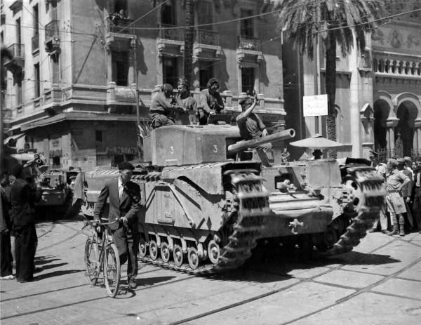 Тунисская операция 1943 г.
