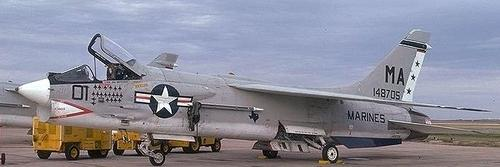 Самолет ВОУТ F-8 «Крусейдер»