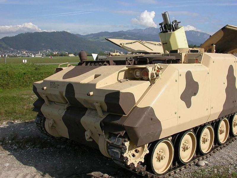 120-мм самоходный миномет (СМ) «Бигхорн»