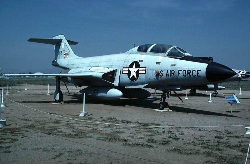 """Самолет Макдоннелл F-101 """"Вуду"""""""