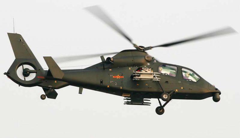 Ударный вертолет Z-19
