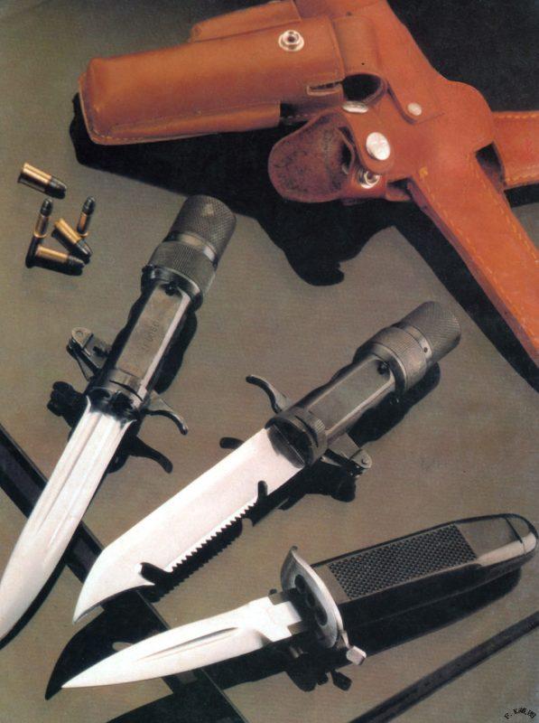Стреляющий нож тип 316 (тип 85)