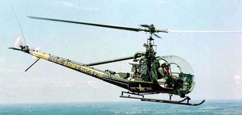 """Вертолет Хиллер OH-23 """"Рейвен"""""""